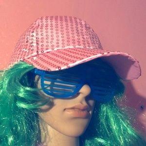 SEQUIN CAP - Rave Fashion - Hat Party Baseball